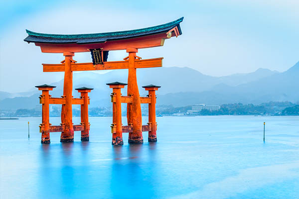 floating torii gate
