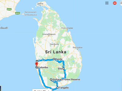 Trekking Tour of Sri Lanka